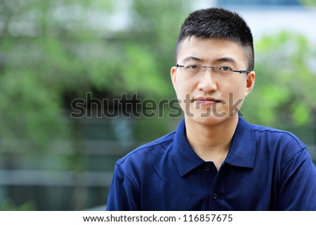 young chinese man