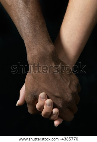 black and white pictures of people holding hands. Young couple holding hands