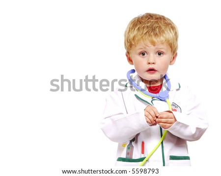 Young doctor, Toddler
