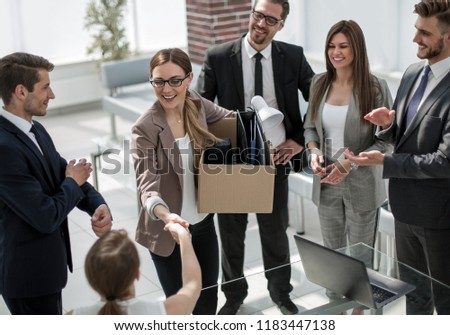 young employee meets with the project Manager