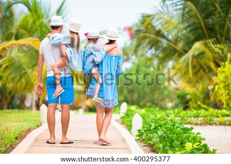 Shutterstock Young family on vacation