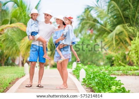 Young family on vacation #575214814