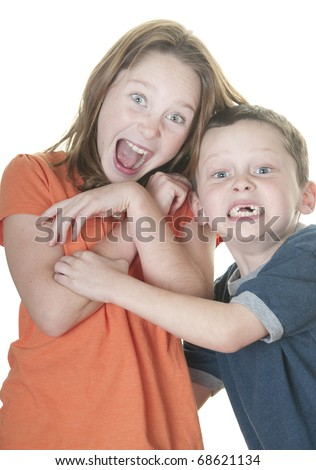 se boy and screaming girl pics
