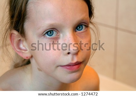 Very Young Little Girls Bath Hot Girls Wallpaper