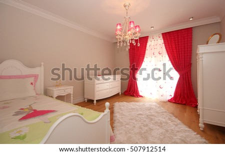 Young Girl Room #507912514