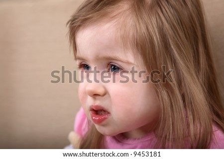 Young girl with Down Syndrome