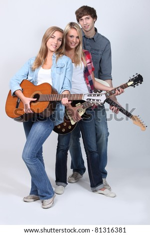 Young guitarists