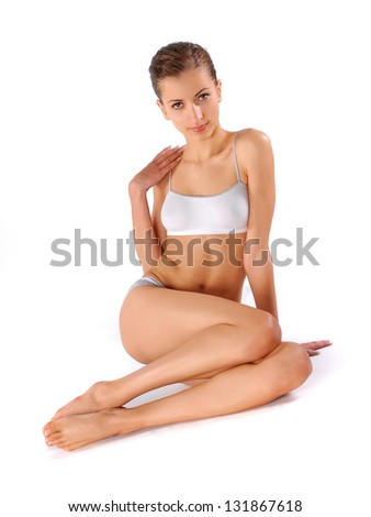 Young healthy woman