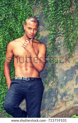 Matchless topic black americans man naked