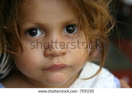 Young Honduran Orphan