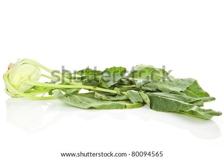 Kohlrabi+leaves