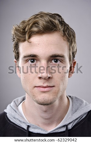 young man face, a high detailed portrait