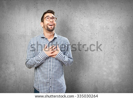 Shutterstock young man in love