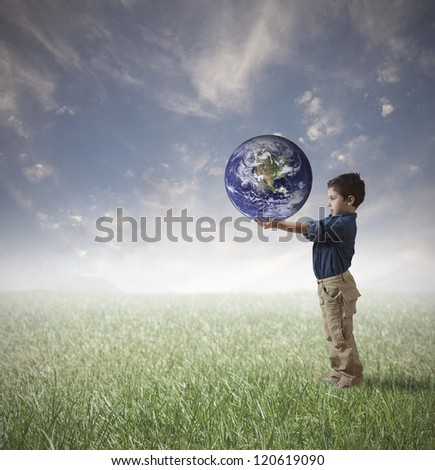 Young man try to save the world