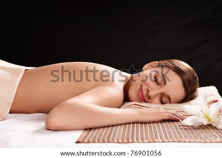stock photo young naked girl in spa salon 76901056 stock photo : Young naked girl in spa salon. Save to a lightbox ▼