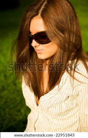 Cute Girls With Brown Hair And Green Eyes. Brown Hair And Green Eyes.