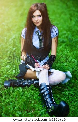 schoolgirl young