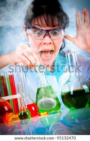 young scientist in the lab