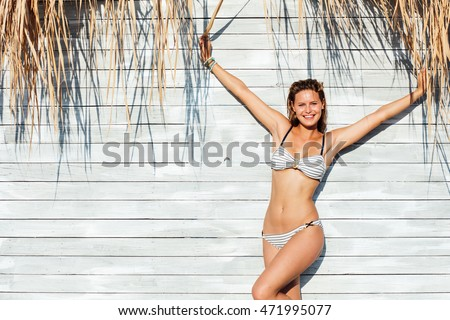 young sexy woman wearing ...