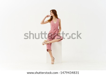 young stylish woman in stylish clothes