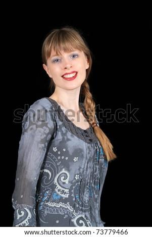 Blonde Hair Girl Blue Eyes. londe hair and lue eyes