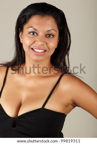 stock photo young voluptuous indian adult woman with long black hair wearing a black dress and blue coloured 99819311 famous porn star found dead. Source: The Daily Telegraph