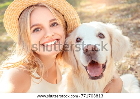 Young woman blonde hair summer style concept