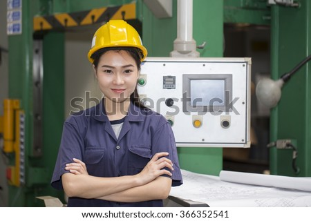 Engineer setup testing machine Images and Stock Photos