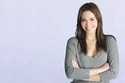 young woman portrait in studio