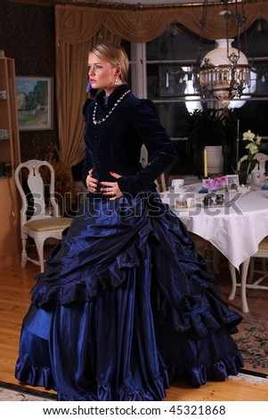 Victorian dress pattern plus size