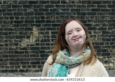 Young Woman with Down syndrome