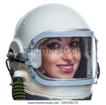 Royalty-free Astronaut isolated on a white… #185149403 ...