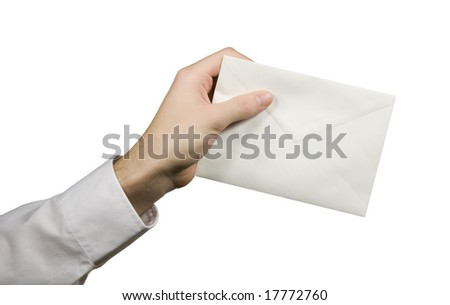 Your letter (mail) - stock photo