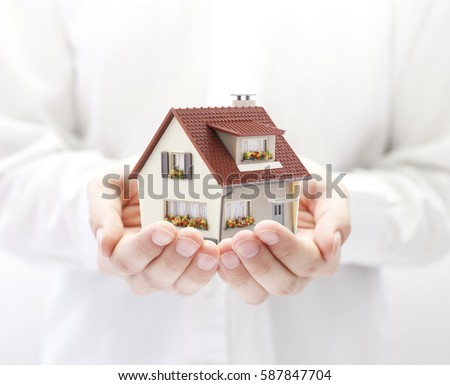 Your new house  Foto stock ©
