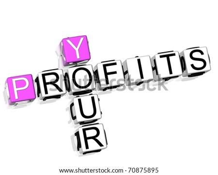 Your Profits Crossword