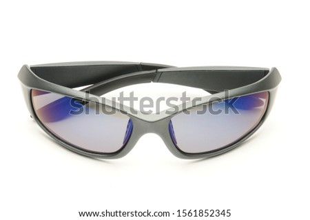 Youth sunglasses on an isolated white background #1561852345