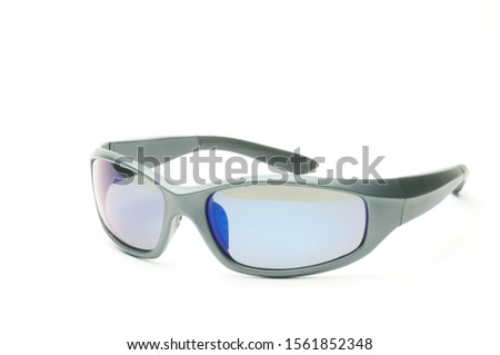 Youth sunglasses on an isolated white background #1561852348