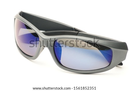 Youth sunglasses on an isolated white background #1561852351