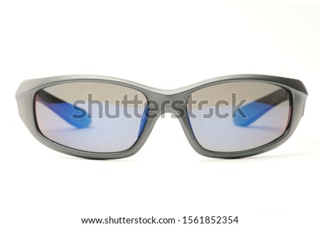 Youth sunglasses on an isolated white background #1561852354
