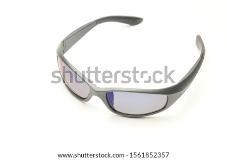 Youth sunglasses on an isolated white background #1561852357