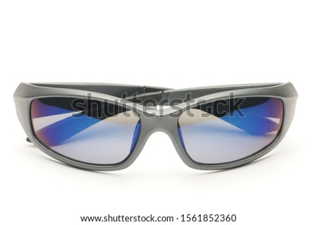 Youth sunglasses on an isolated white background #1561852360
