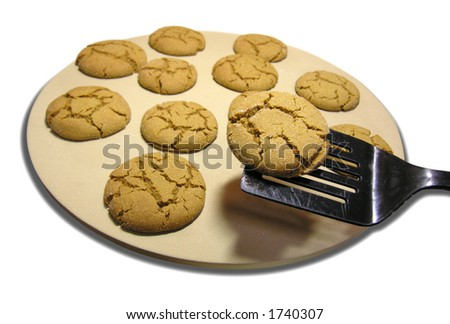yum - ginger cookies.
