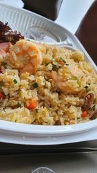 yummy asian seafood fried rice
