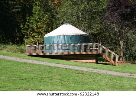 Yurt in Campground