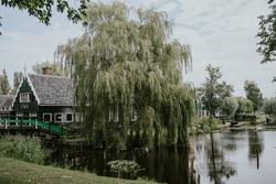Zaandam, village in the Netherlands. Antif house