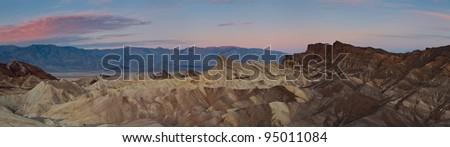Zabriskie Point. Image of Zabriskie Point in Death Valley National Park, California, USA
