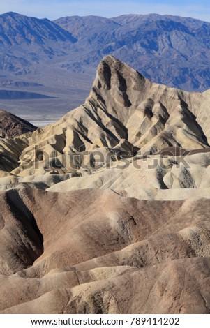 Zabriskie Point in Death Valley National Park #789414202