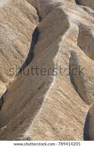 Zabriskie Point in Death Valley National Park #789414205