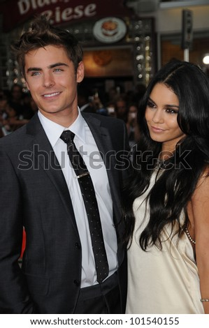 """Zac Efron and Vanessa Hudgens at the """"Charlie St. Cloud"""" World Premiere, Regency Village Theatre, Westwood, CA. 07-20-10"""