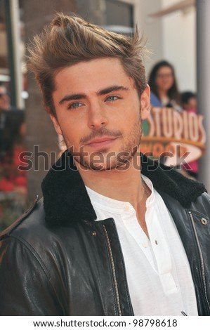 """Zac Efron at the world premiere of his new animated movie """"Dr. Suess' The Lorax"""" at Universal Studios, Hollywood. February 19, 2012  Los Angeles, CA Picture: Paul Smith / Featureflash"""